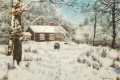 Winter's Here - Oil