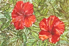 twin-flowers-water-color